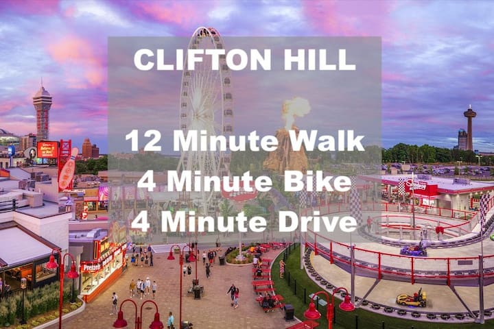 ❤️2 for 1❤️ Walk to The Falls or Clifton Hill! ⭐️