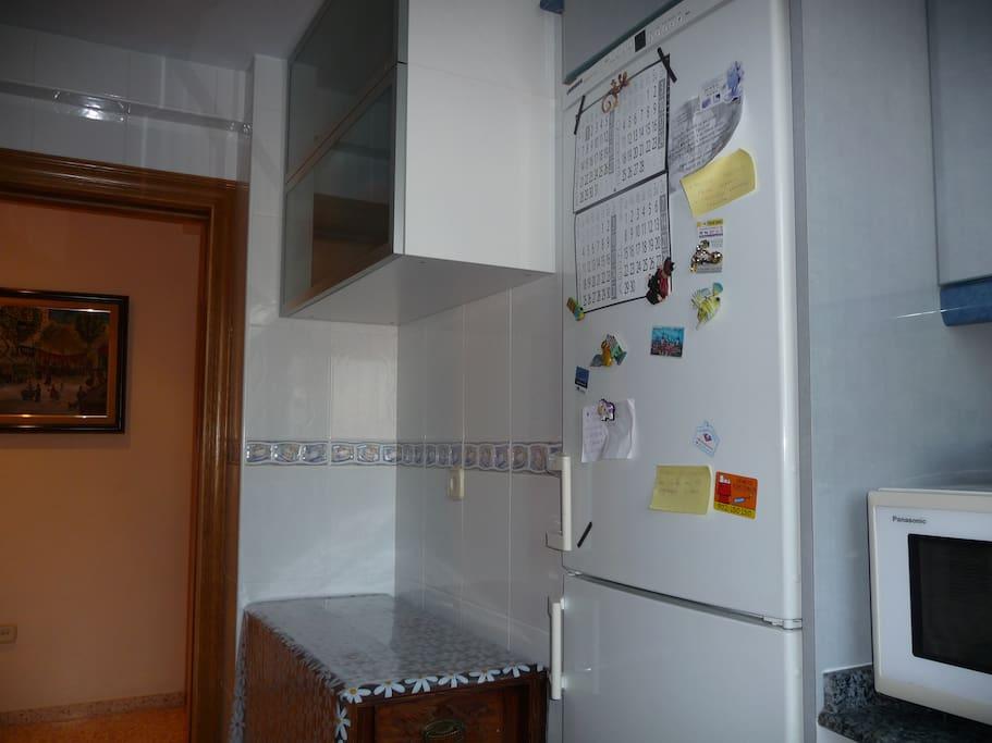 nevera congelador microondas