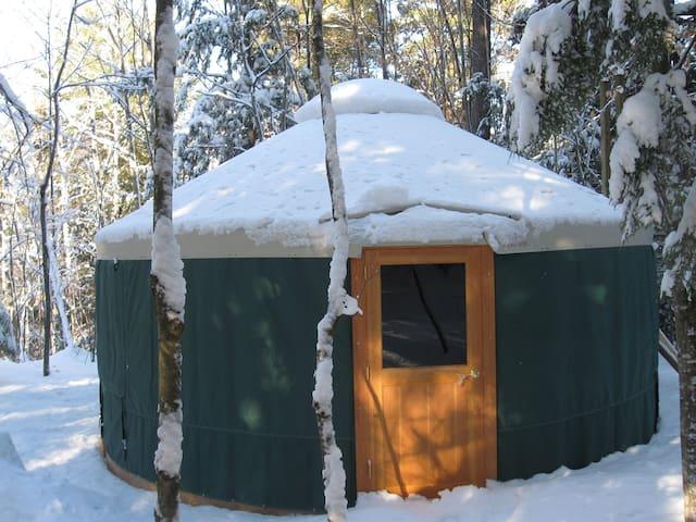 Yurt Off-The-Grid Mountain Retreat