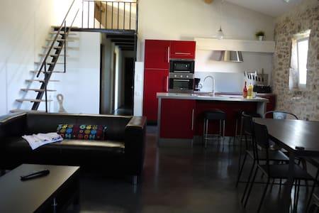 Gîte in a winery - Saint-Paulet-de-Caisson - Apartmen