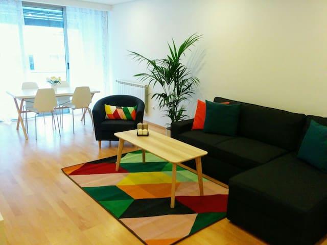 Modern, renovated apartment, close to the beach - Matosinhos - Apartemen