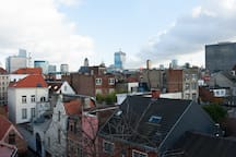 View over Brussels