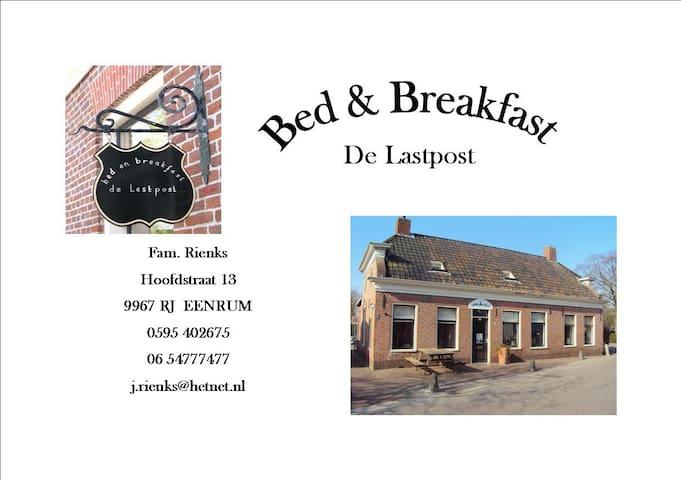 B&B De Lastpost, Eenrum Nederland