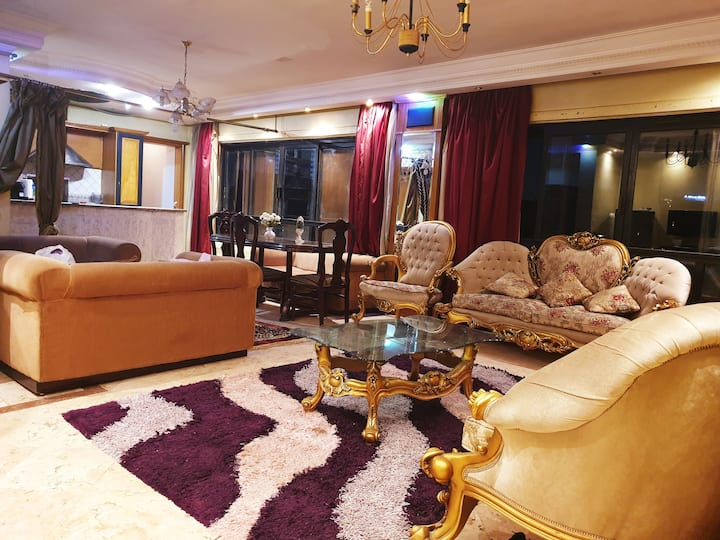 Central Location&Nile view flat❤Walk to the Nile❤