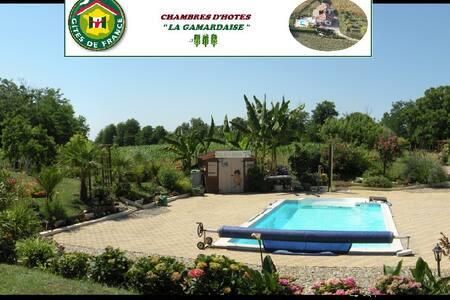 chambres d'hotes - la gamardaise - Gamarde-les-Bains - Penzion (B&B)