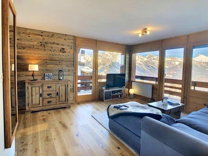 Superbe appartement rénové avec vue panoramique