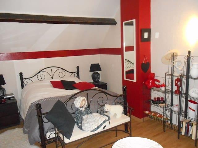 Chambres pour 1 ou 2 personnes - Floing - Ház