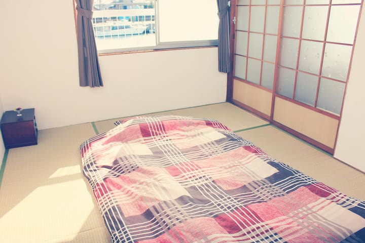 ATAATA HOUSE Room2 Tatami room/Park/Pick up
