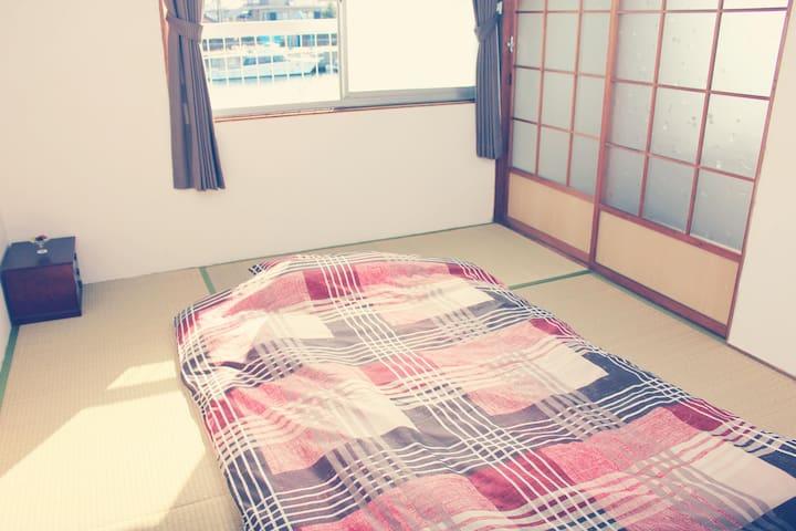 ATAATA HOUSE Room2 Tatami room/Park/Pick up - Yokkaichi-shi - Casa