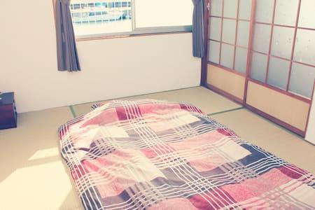 ATAATA HOUSE Room2 Tatami room/Park/Pick up - Yokkaichi-shi - 一軒家