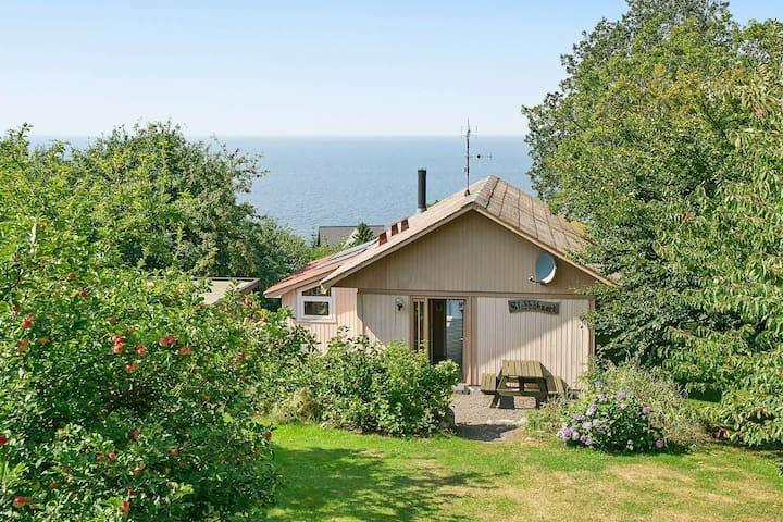 Geräumiges Ferienhaus in Hasle Bornholm mit Ostseeblick