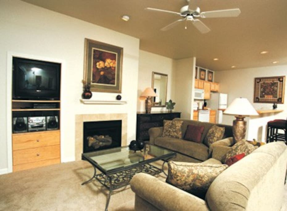 This photo is not unit specific and only denotes style and decor of all the units.