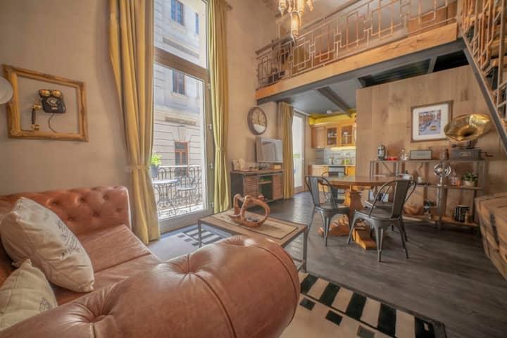 Extraordinario loft en Palacio Raggio.# 1.
