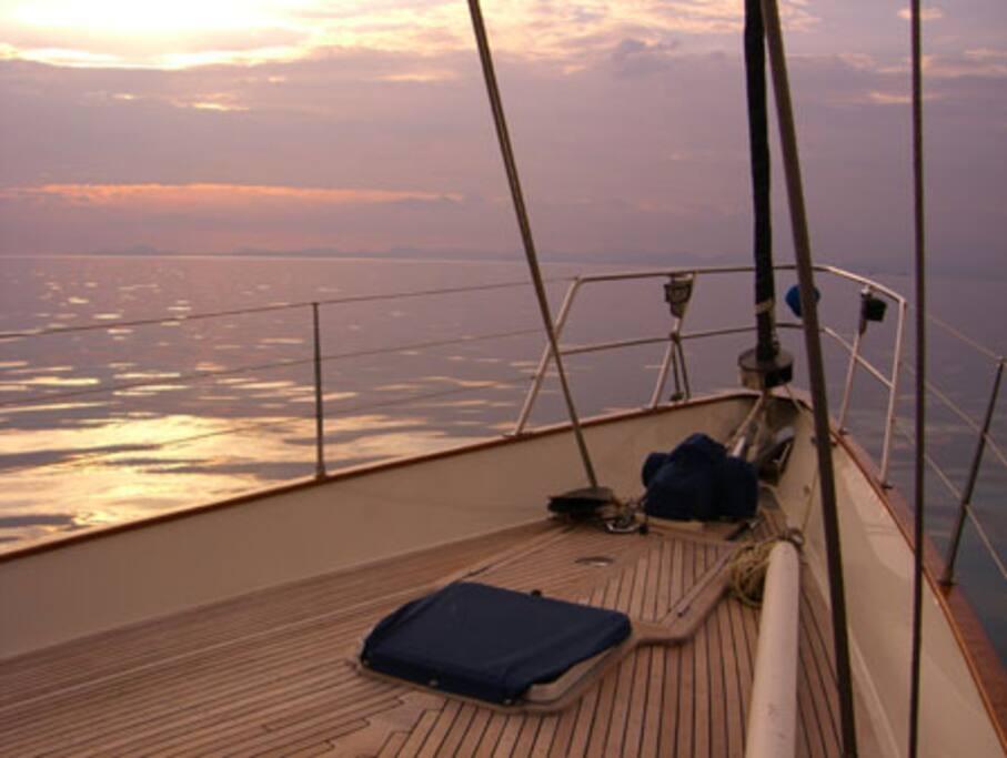 My Way at Sunset 1