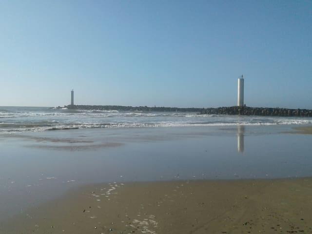 Kitinet na praia