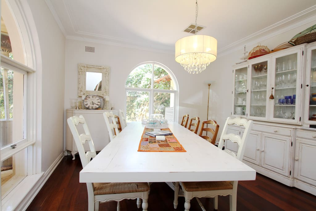 Indoor dining - French Provincial style!