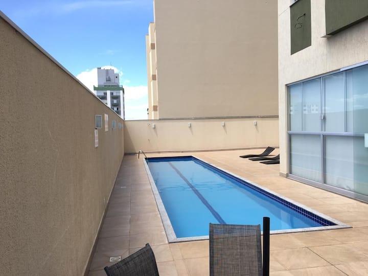 Apartamento 1 quarto casal, lado UEM kitnet Luxo