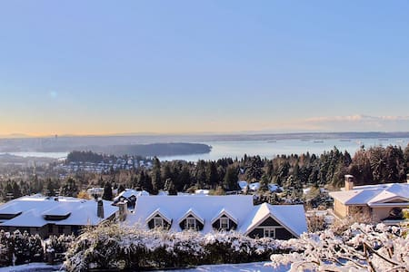 Luxury home, Best view! - West Vancouver