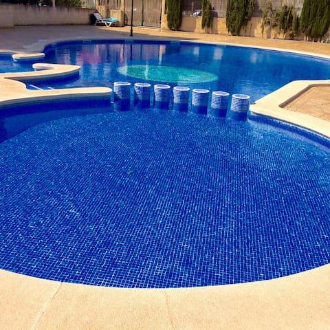 Ático solárium con piscina comunit. - Marratxí - Apartment