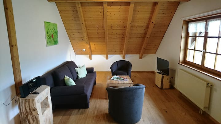 Hermeshof und Biohaus, (Titisee-Neustadt), Biohaus 2, 55qm, 1 Schlafzimmer, max. 3 Personen