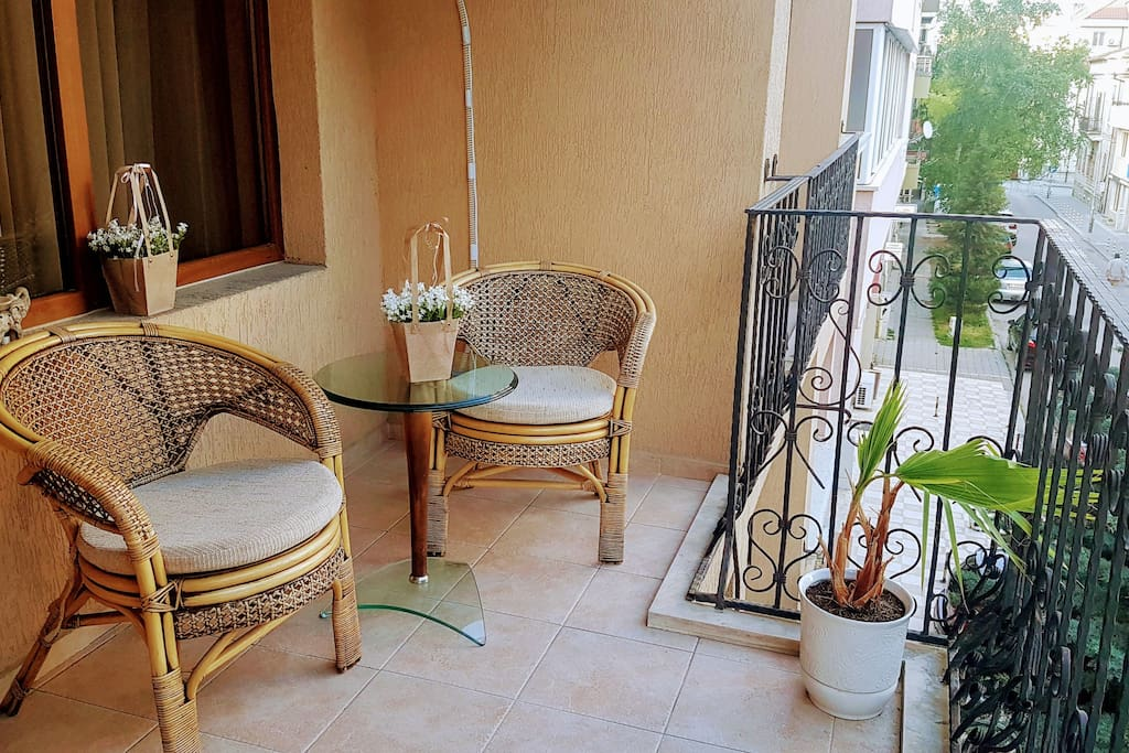 Nice big balcony