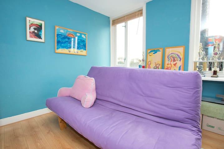 Amsterdam-Zuid:  Great loft bedroom