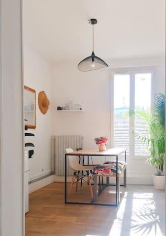 Appartement cosy porte de Paris