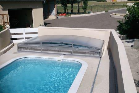 Beau T3 à la campagne, calme et piscine... - Livron-sur-Drôme - Apartemen