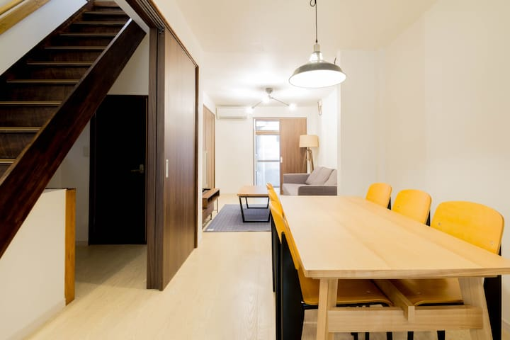 Spacious/Walkable to ShinOsaka Sta! For Max 8ppl!