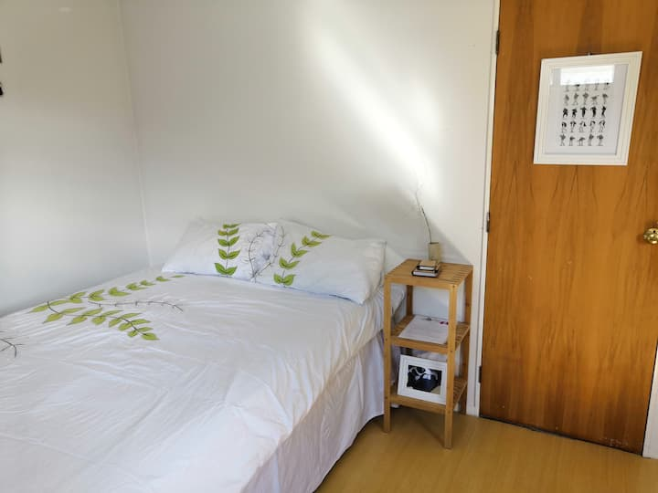 Spacious sunny room for2, 3min to LHutt city&Beach
