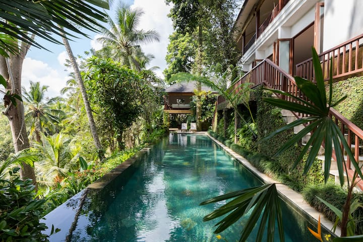Ubud 4 Bed Room Pool Villa Hideaway