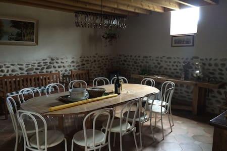 Maison de campagne rustique et pleine de charme - La Motte-de-Galaure - 단독주택