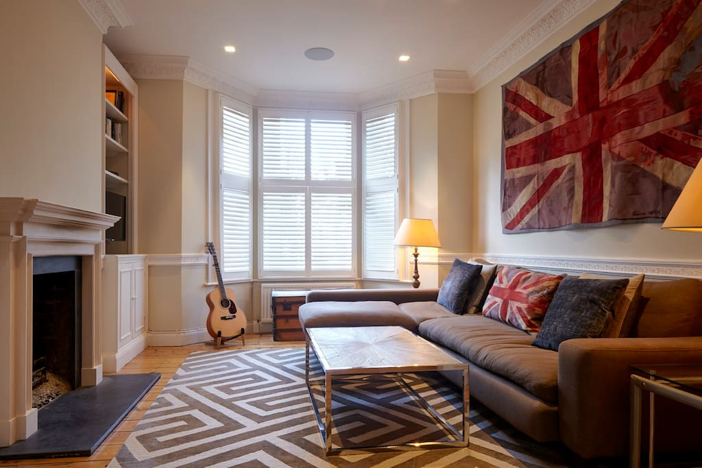 Milson 3 double bedroom flat in west kensington for Alquiler piso londres