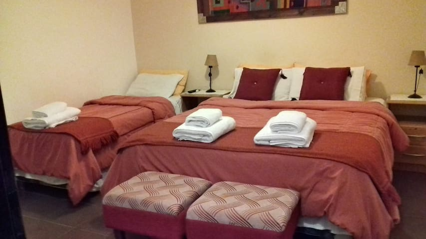 Triple Room in lovely Posada