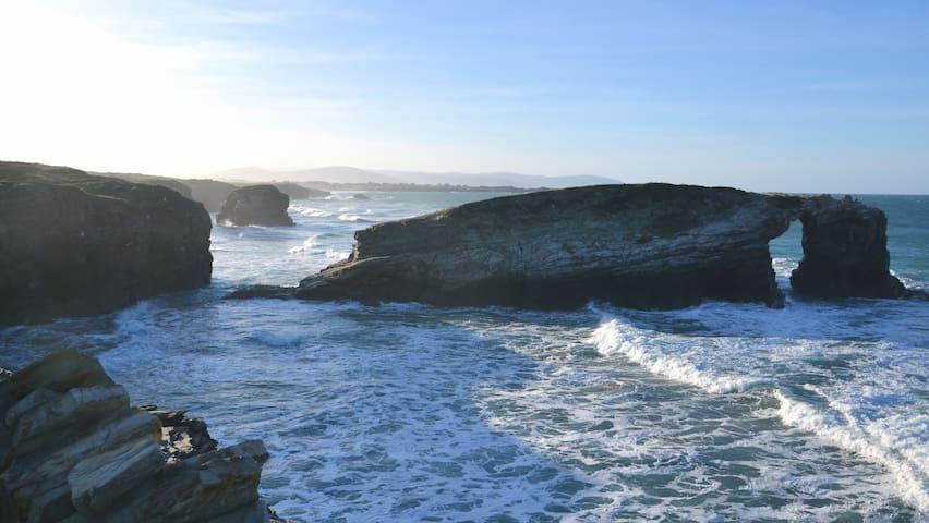 Mar, tranquilidad y buena gastronomía - Rinlo - Leilighet