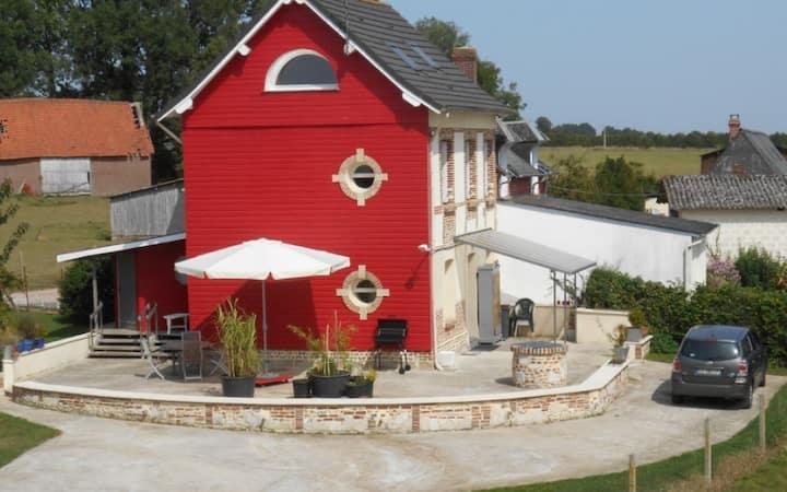 Simply Red, Gîte de Montreuil en Caux