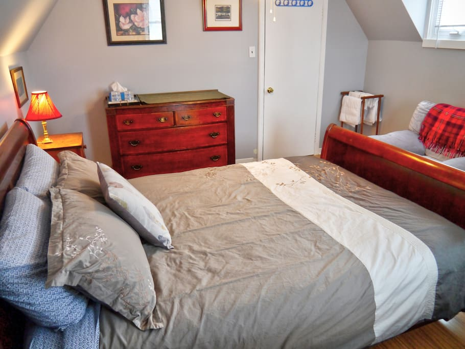The Guest Room from another angle showing the comfy chair.