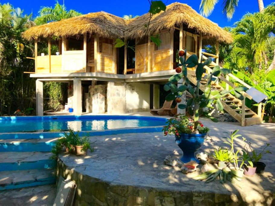 Entire house in quiet Cabarete villa with kitesurfing full course
