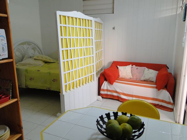 Charming apartment in Guadeloupe - Baillif - Apartemen