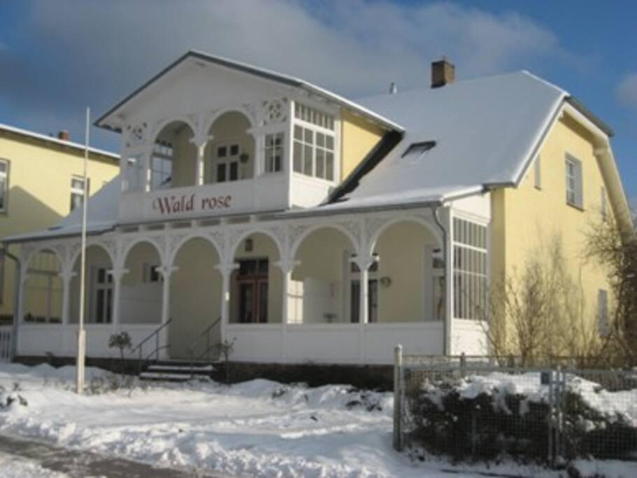 Pension Waldrose Auch im Winter eine Reise Wert