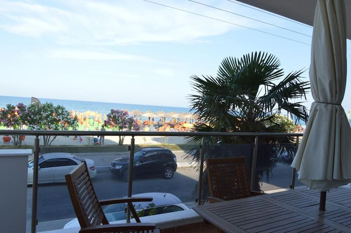 Luxury apartment front of the sea - Paralia - Appartement