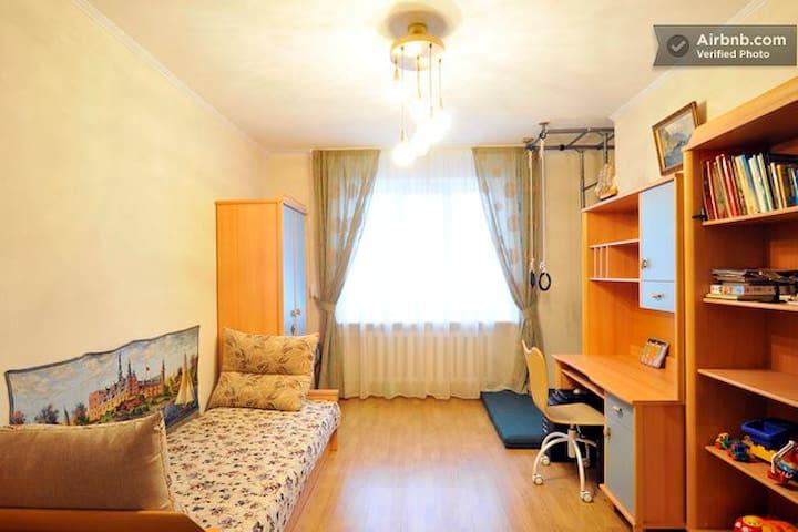 Comfortable room by metro, verified - Kiev
