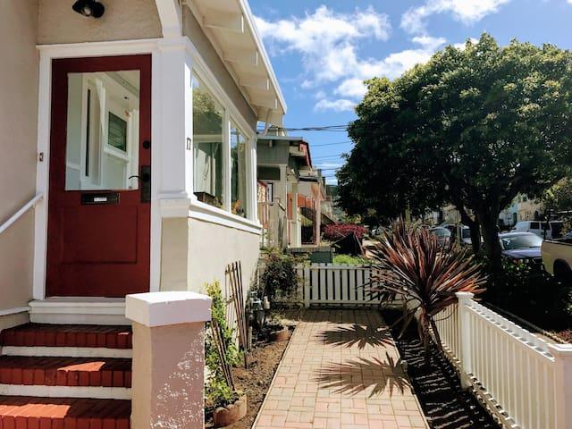 Cozy one bedroom home in San Francisco - San Francisco - Huis
