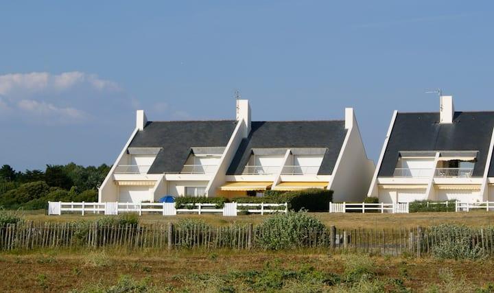 Vous aimerez cette maison à 100 metres de la plage