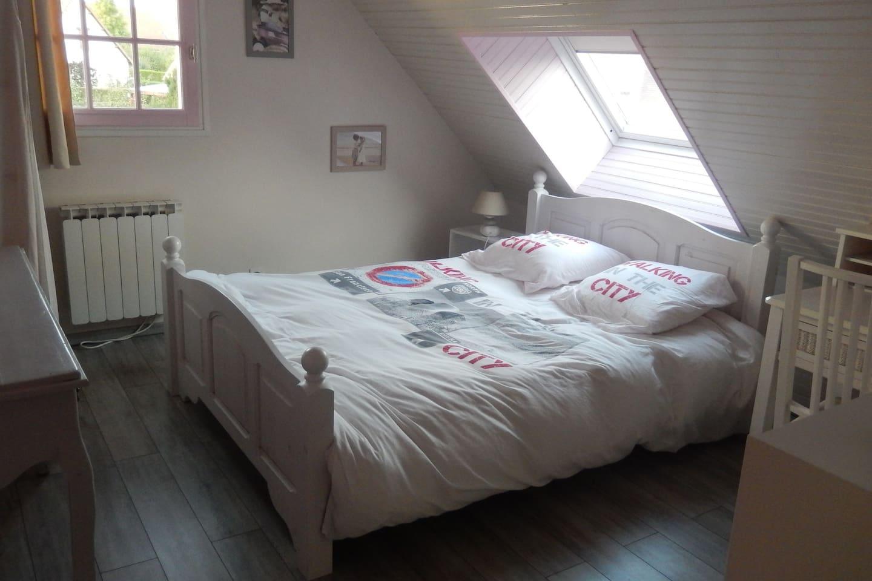 belle chambre lumineuse ,confortable et spacieuse