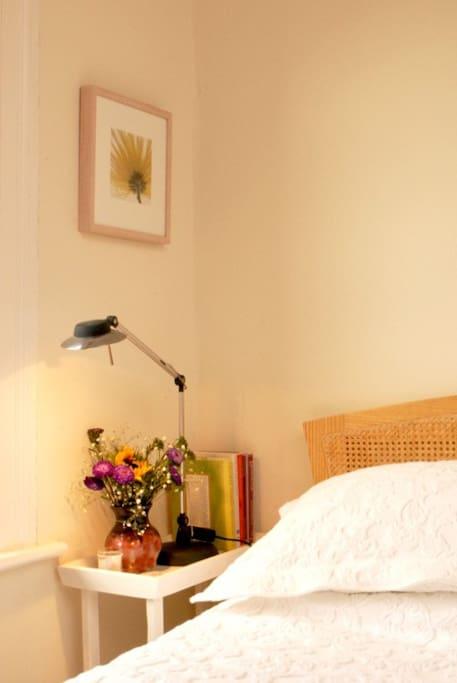 Main bedroom detail