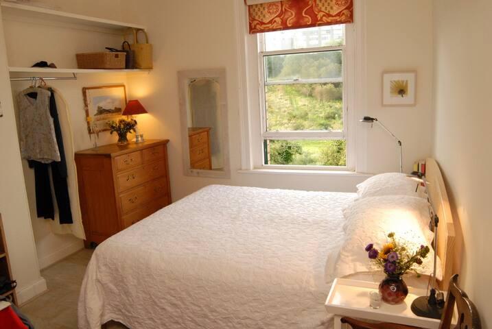 Main bedroom overlooking Craigmillar golf course