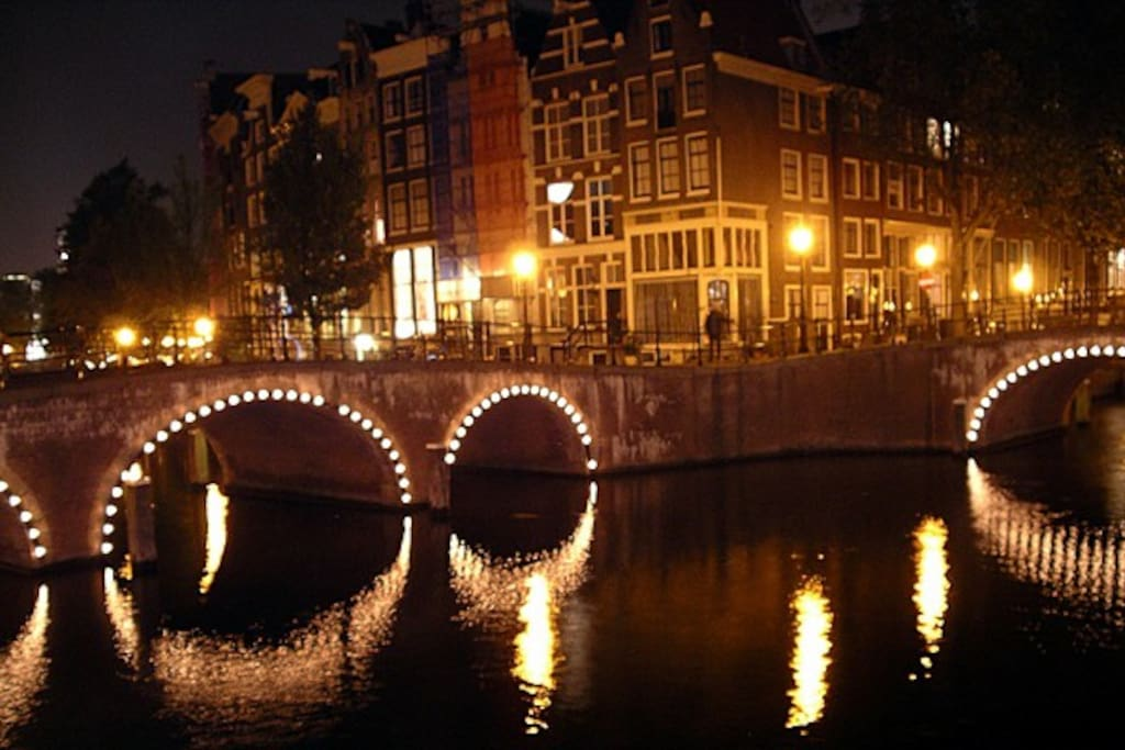 Amsterdam is beautiful