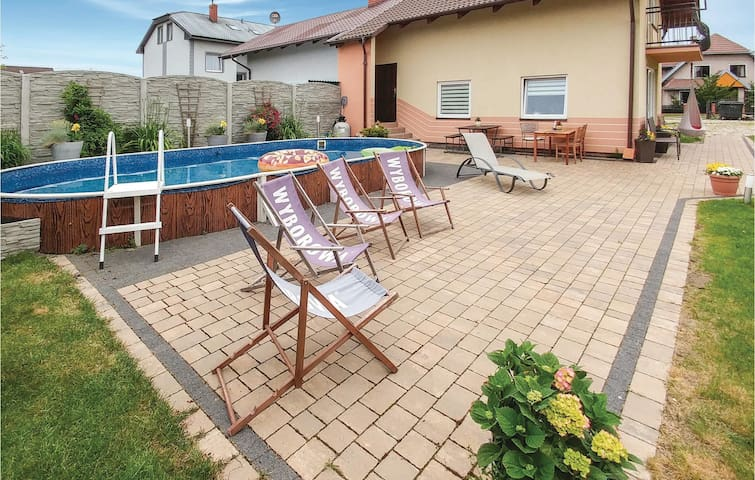 Holiday apartment with 1 room on 40m² in Leba