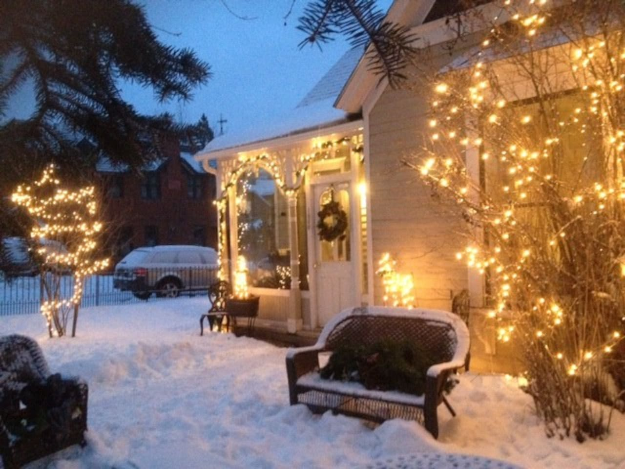 A peek of the charming front enterance